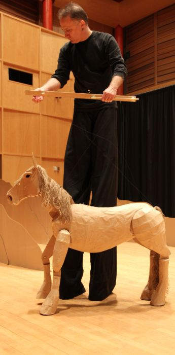 puppeteering