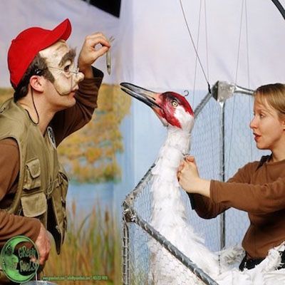 Project: whooping crane a touring theatre production
